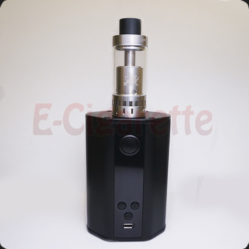 Атомайзер GeekVape Griffin на бокс моде Eleaf iStick TC200W
